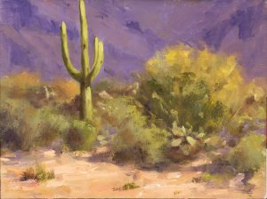 Cactus scene
