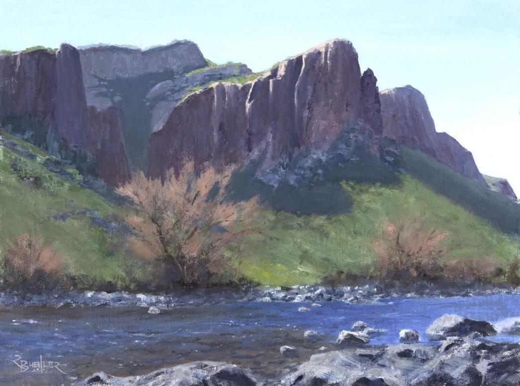 Salt River Cliffs Morning